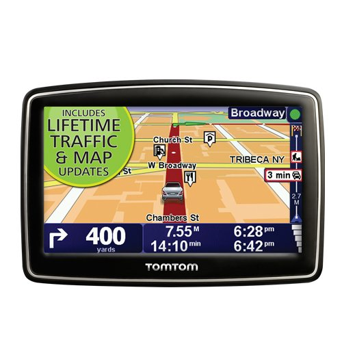 TomTom XL 340TM 4.3-Inch Portable GPS Navigator (Lifetime Traffic & Maps Edition)