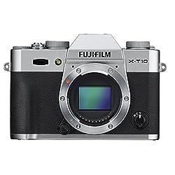 FUJIFILM デジタルカメラミラーレス一眼 X-T10ボディ シルバー X-T10-S