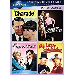 Screen Couples Spotlight Collection [Charade, Double Indemnity, Pillow Talk, My Little Chicadee] (Universal's 100th Anniversary)