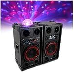 """2x Skytec 10"""" Active Party Speakers C..."""