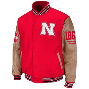 Nebraska Cornhuskers NCAA Varsity 2013 Letterman Jacket by Colosseum