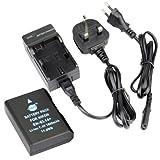 DSTE® EN-EL14 Rechargeable Li-ion Battery + Charger DC111U for Nikon Coolpix P7000, Coolpix P7100, Coolpix P7700, Coolpix P7800, D3100, D3200, D3300, D5100, D5200, D5300, Df Digital Cameras