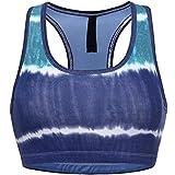 GIODANI Women Tie Dye Racerback Sports Bra