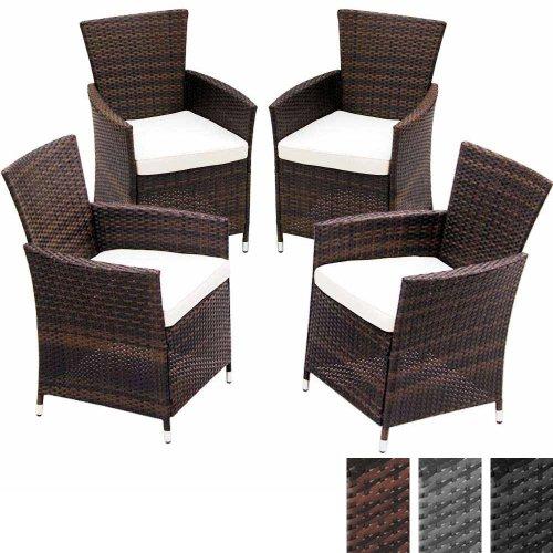 Gartenmobel Von Hornbach : polyrattan stühle in braun bequeme gartenmöb hochwertige polyrattan
