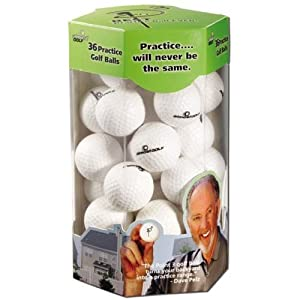 AlmostGolf Point3 36 Ball Pack - White by Almost