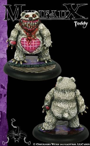 Wyrd Miniatures Malifaux Neverborn Teddy Model Kit [parallel import goods]
