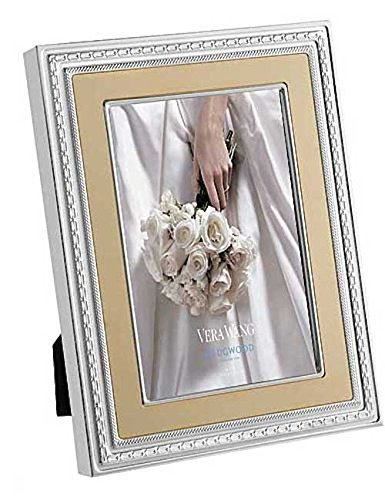 Wedgwood Vera Wang With Love Frame, 8 By 10-Inch, Gold front-325013