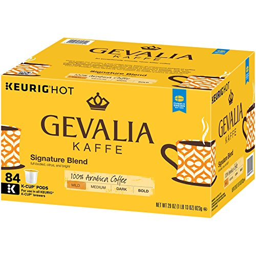 Gevalia Signature Blend Coffee, Mild, K-Cup