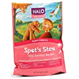 Halo Spot's Stew Natural Dry Dog Food, Puppy, Wild Salmon Recipe, 18-Pound Bag