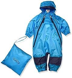 Tuffo Little Kids\' Muddy Buddy Coverall, Blue, 5T