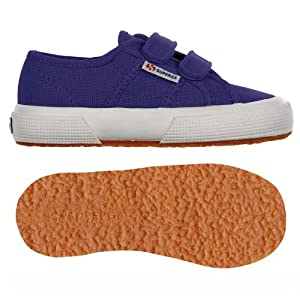 Superga 2750Jvelcro Classic - Zapatillas para niños, color ultramarine, talla 28