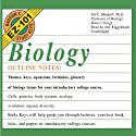Barron's EZ-101 Study Keys: Biology, Second Edition (       UNABRIDGED) by Eli C. Minkoff Narrated by Jeff Riggenbach