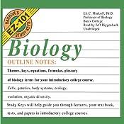 Barron's EZ-101 Study Keys: Biology, Second Edition | [Eli C. Minkoff]