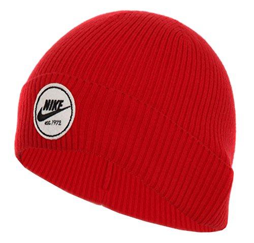 Nike Cuffed Core Unisex Beanie Berretto, Rosso