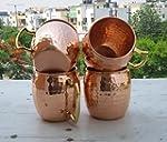 Hammered Copper Moscow Mule Mug Handm...