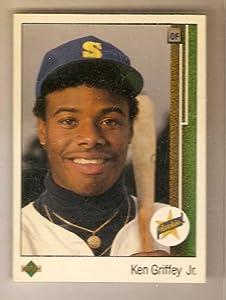 1989 Upper Deck #1 Ken Griffey Jr. - Seattle Mariners (RC - Rookie Card) by Upper+Deck