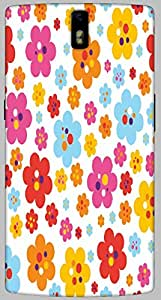 Timpax protective Armor Hard Bumper Back Case Cover. Multicolor printed on 3 Dimensional case with latest & finest graphic design art. Compatible with only One Plus One. Design No :TDZ-21485