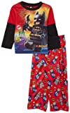 AME Sleepwear Boys 2-7 Lego Bat 3 Pajama