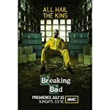(27x40) Breaking Bad - All Hail the King Bryan Cranston TV Poster