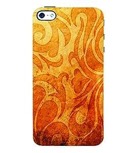 Fuson 3D Printed Pattern Designer Back Case Cover for Apple iPhone 4 - D972