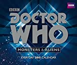 Official Doctor Who Desk Block Calendar 2015