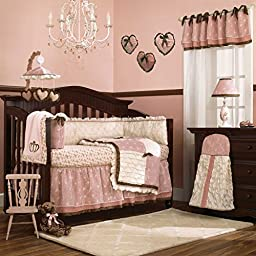 Daniella 9 Piece Crib Bedding Set with Bumper by Cocalo