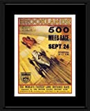 Retro Car Prints: Brooklands 500 Mile Race – Motor Racing Print 1930s – 40x30cm