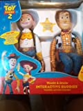 Toy Story 2 Disney Pixar Woody and Jessie Interactive Buddies. Talking Action Figures. Together they say over 100 phrases.