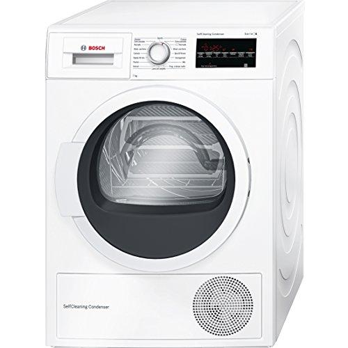 Bosch Serie 6 WTW85457IT Libera installazione Caricamento frontale 7kg A++ Bianco asciugatrice