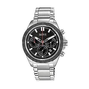 Dugena Premium 7090172 - Reloj de pulsera hombre, acero inoxidable, color plateado