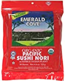 Emerald Cove Pacific Sushi Nori -- 50 Sheets