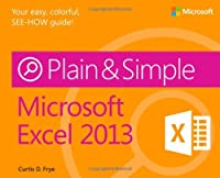 Microsoft Excel 2013 Plain & Simple Front Cover