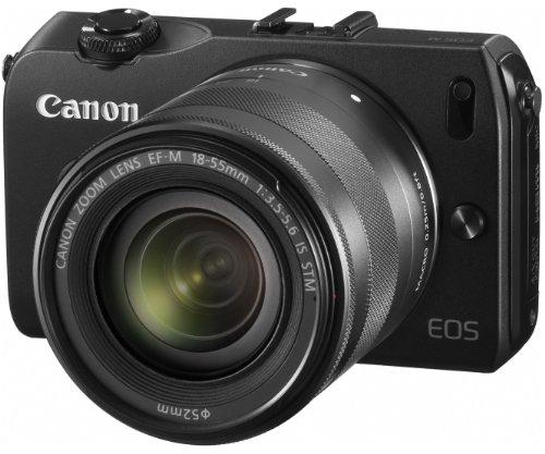 Canon mirrorless interchangeable lens camera EOS M lens kit EF-M...