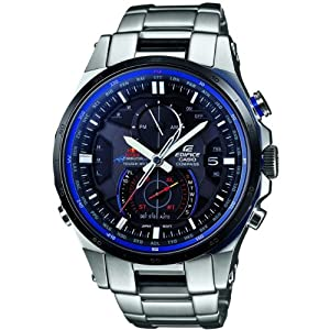 Casio EQW-A1200RB-1AER Red Bull Edifice Radio Controlled Solar Silver Tone Watch