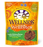 Wellness WellBites Dogs Treats, Lamb and Salmon, 8-Ounce Pouch
