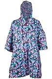 Mountain Warehouse Poncho Mens Womens Unisex Patterned Waterproof Pakka Jacket Rain Coat Anorak Dry