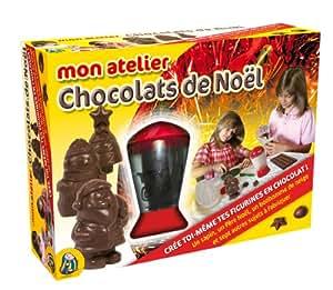 Potentier - 9954 - Kit de Loisir Créatif - Atelier Chocolat Noel