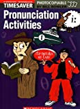 Bill Bowler Timesaver Pronunciation Activities Elementary - Intermediate with audio CD