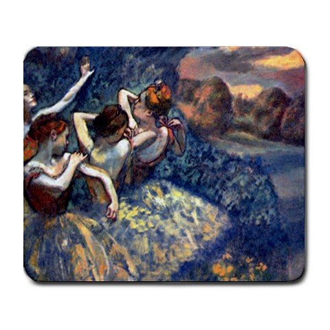 Four Dancers By Edgar Degas Mouse Pad
