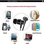 SFR karsiqi 3.5mm Plug In-ear Earphone with Microphone & Volume Control3.5mm Stereo Headset HeadphoneIn-Ear Headphones3.5mm In-Ear Stereo Earphones3.5mm In ear/earbuds Stereo Headset (Black)