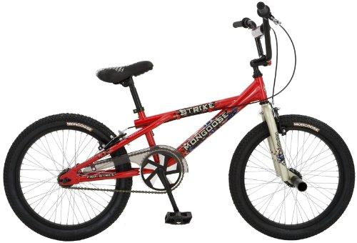 Mongoose Strike Boy's BMX Bike (20-Inch Wheels)