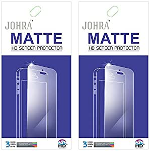 Johra Transparent HD Matte Scratch Resistant Screen Guard ForHuawei Honor 6 Plus (Pack Of 2)