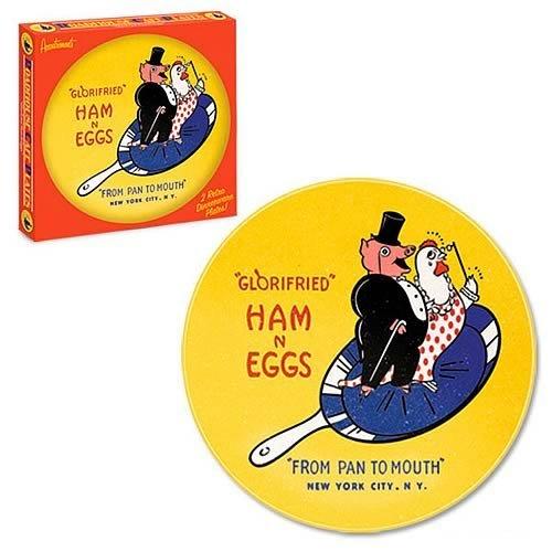 Glorified Ham N Eggs 8-Inch Plates 2-Pack