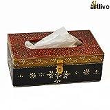 Artlivo BOLD RED Tissue Box BO016