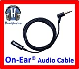 Audio Cable For Bose QuietComfort® On-Ear Headphones [by Headphonics]
