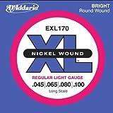 D'Addario EXL170 ダダリオ エレキベース弦 ロングスケール