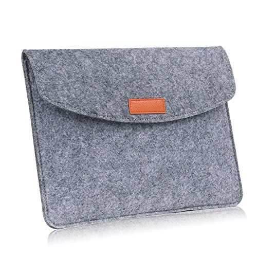 MoKo 9-10 Inch Sleeve Bag, Felt Protective Case Cover for Apple iPad 1 / 2 / 3 / 4, iPad Air / Air 2, iPad Pro 9.7
