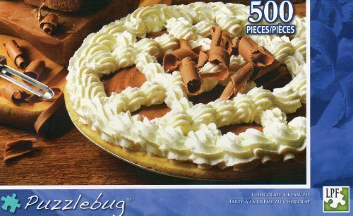 Chocolate Cream Pie - Puzzlebug - 500 Pc Jigsaw Puzzle - NEW - 1