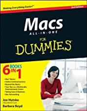 Macs All in One For Dummies by Hutsko