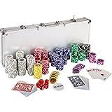 Ultimate Pokerset mit 500 hochwertigen 12 Gramm METALLKERN Laserchips